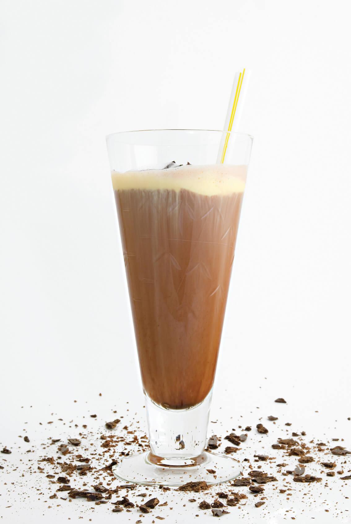 משקה שוקו-בננה